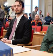 Bild från Högsta domstolen.  Anders Wiklund/TT / TT NYHETSBYRÅN