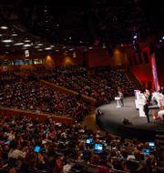 S-kongressen i Örebro pågår under helgen. Filip Erlind/TT / TT NYHETSBYRÅN