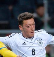 Mesut Özil i en match mot Sverige 2013. Anders Wiklund / TT / TT NYHETSBYRÅN