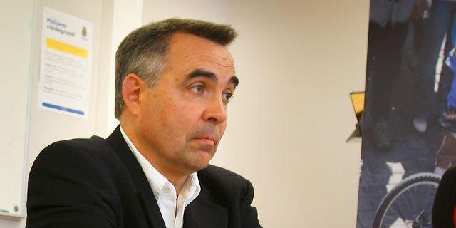Ingemar Isaksson, chef för Riksmordkommissionen. Lasse Hejdenberg / TT NYHETSBYRÅN
