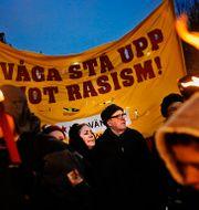 Antirasistisk demonstration, 2012, arkivbild. ERIK MÅRTENSSON / TT / TT NYHETSBYRÅN
