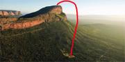 Du behöver en helikopter för att ta dig an världens med extrema golfhål. Instagram