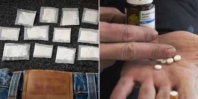 På LVM-hem beslagtas stora mängder droger. Statens institutionsstyrelse, Sis/SVT
