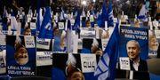 Valaffischer från Likudpartiet. Ariel Schalit / TT NYHETSBYRÅN