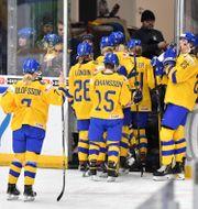 Damkronorna vid VM i Finland. Jonas Ekströmer/TT / TT NYHETSBYRÅN