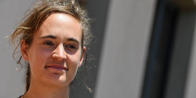 Carola Rackete. ANDREAS SOLARO / AFP
