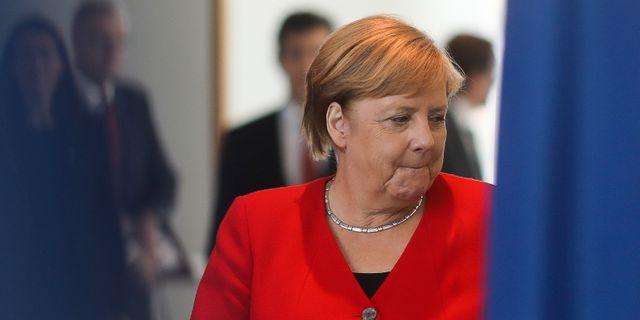 Illustrationsbild: Tysklands förbundskansler Angela Merkel. Markus Schreiber / TT NYHETSBYRÅN