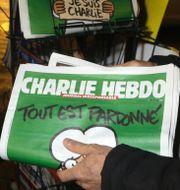 Charlie Hebdo efter terrordådet. Lionel Cironneau / TT NYHETSBYRÅN