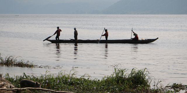 Arkivbild på Kongofloden.  Sam Mednick / TT NYHETSBYRÅN/ NTB Scanpix