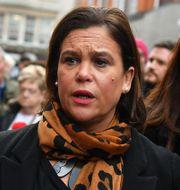 Sinn Féins ledare Mary Lou McDonald. BEN STANSALL / AFP
