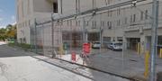 Skärmavbild från Google Maps från Main Jail i Fort Lauderdale.  Google maps