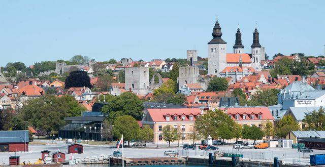Arkivbild: Strålningsnivåerna uppmättes bland annat i Visby Fredrik Sandberg/TT / TT NYHETSBYRÅN
