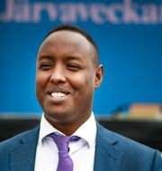 Ahmed Abdirahman, grundare av Järvaveckan.  Simon Rehnström/SvD/TT / TT NYHETSBYRÅN