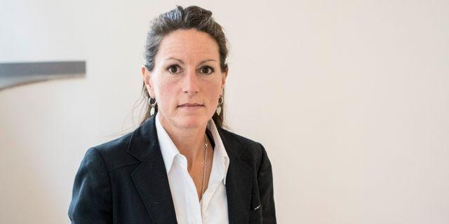Louise Brown.  Christine Olsson/TT / TT NYHETSBYRÅN