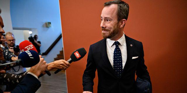 Jacob Elleman-Jensen. Philip Davali / TT NYHETSBYRÅN