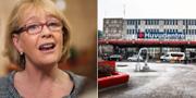 Stockholms finansregionråd Irene Svenonius (M) / Karolinska Huddinge TT