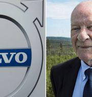 PG Gyllenhammar är kritisk till Volvos ledning. Arkivbilder. TT