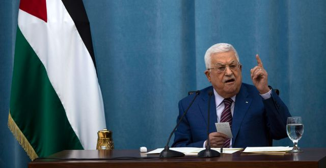Mahmoud Abbas. Majdi Mohammed / TT NYHETSBYRÅN