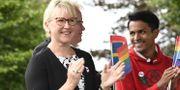 Utrikesminister Margot Wallström och Philip Botström, arkivbild. Ulf Palm/TT / TT NYHETSBYRÅN