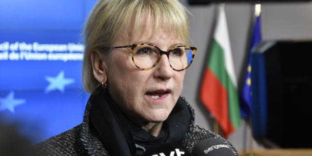 Margot Wallström (S). Wiktor Nummelin / TT / TT NYHETSBYRÅN