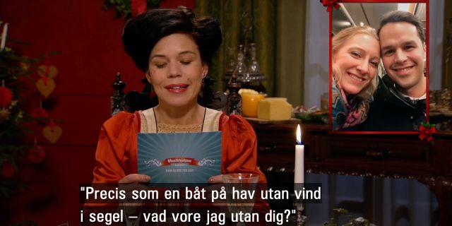 Lotta Lundgren ställer frågan åt Mattias Clément. SVT