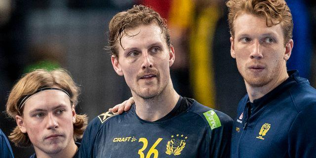Jesper Nielsen (mitten). MICHAEL ERICHSEN / BILDBYRÅN