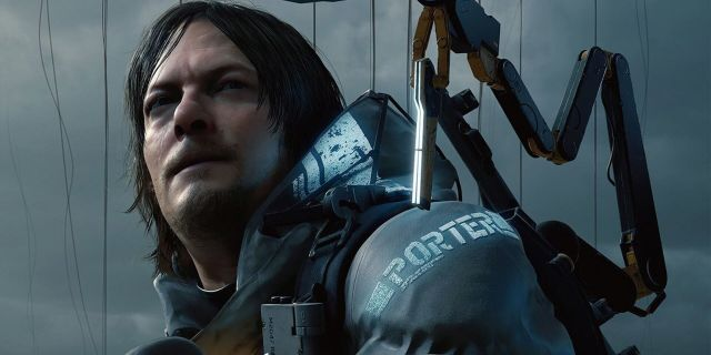 "Norman Reedus i spelet ""Death Stranding"". PRESS"