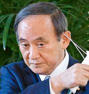 Japans premiärminister Yoshihide Suga Yuta Omori / TT NYHETSBYRÅN