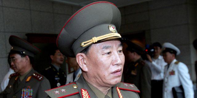 Kim Yong Chol på en bild från 2007 Ahn Young-joon / TT / NTB Scanpix