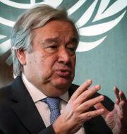 António Guterres Bebeto Matthews / TT NYHETSBYRÅN
