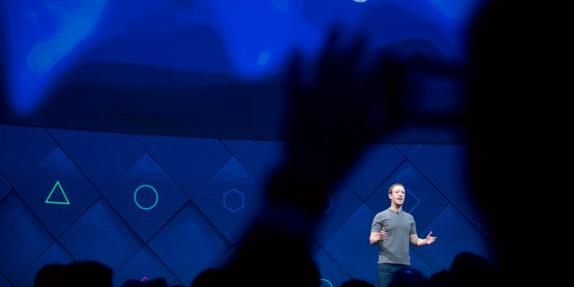 Illustrationsbild: Facebook-grundaren Mark Zuckerberg.  Noah Berger / TT / NTB Scanpix