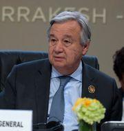 Arkivbild. Guterres.  FETHI BELAID / AFP