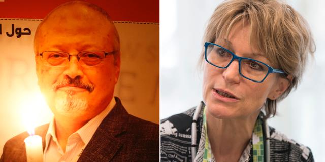 Jamal Khashoggi/Agnès Callamard. TT