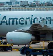 American Airline på Reagan National Airport i Arlington.  ANDREW CABALLERO-REYNOLDS / TT NYHETSBYRÅN