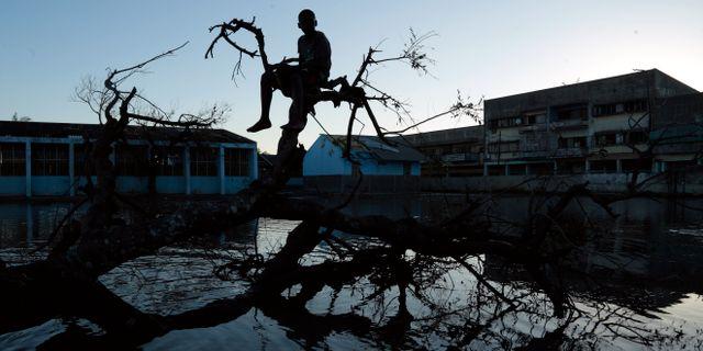 Cyklonen Idai. Themba Hadebe / TT NYHETSBYRÅN/ NTB Scanpix