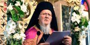 Patriark Bartholomew. Nikolaos Manginas / TT NYHETSBYRÅN