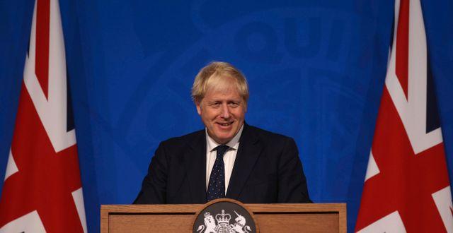 Storbritanniens premiärminister Boris Johnson.  Dan Kitwood / TT NYHETSBYRÅN