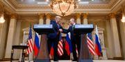 Donald Trump/Vladimir Putin. KEVIN LAMARQUE / TT NYHETSBYRÅN