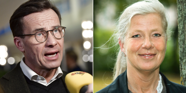 Ulf Kristersson, Kristina Axén Olin. TT