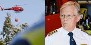Lars-Göran Uddholm, brandchef vid Södertörns brandförsvarsförbund TT