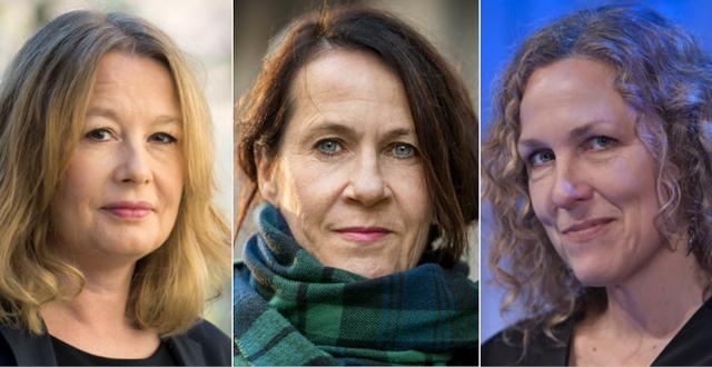 Åsa Linderborg / Vigdis Hjorth / Marit Kapla. TT
