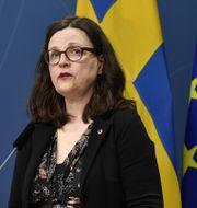 Utbildningsminister Anna Ekström (S). Henrik Montgomery/TT / TT NYHETSBYRÅN