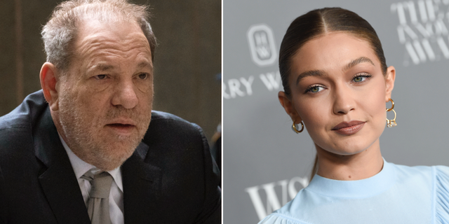 Harvey Weinstein/Gigi Hadid. TT