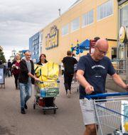 Besökare på Gekås i Ullared/Arkivbild.  Thomas Johansson/TT / TT NYHETSBYRÅN