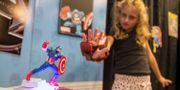 Illustrationsbild, Marvel-superhjälten Iron Man som leksak. Damian Dovarganes / TT NYHETSBYRÅN/ NTB Scanpix