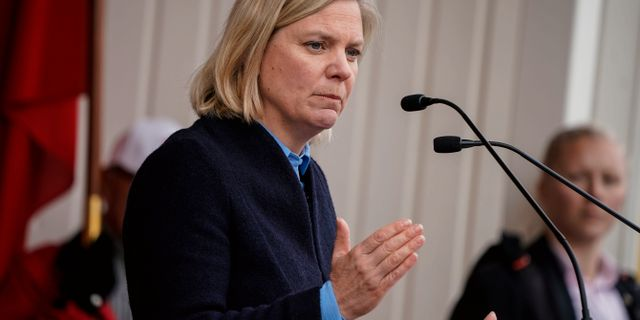 Magdalena Andersson (S). Johan Nilsson/TT / TT NYHETSBYRÅN