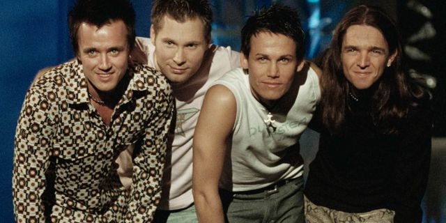 Dansbandet Date 2001.  Ola Torkelsson / TT NYHETSBYRÅN