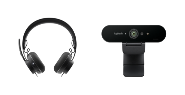 Använd gärna ett headset som endast tar upp din röst samt en extern kamera som går att justera fritt. Då blir videomötena bättre för alla parter.