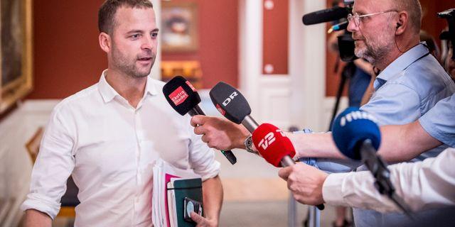 Morten Østergaard, ledare för Radikale venstre Mads Claus Rasmussen / TT NYHETSBYRÅN