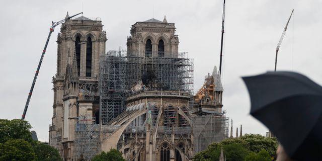 Notre-Dame. Thibault Camus / TT NYHETSBYRÅN/ NTB Scanpix